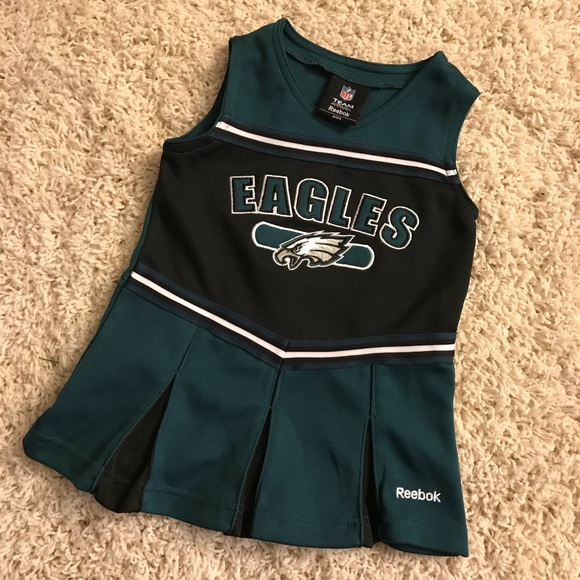 ✨Philadelphia Eagles Cheerleader Dress 💚🦅 24M 2T.  M 5a52cb9084b5cec2d80098b0 e8cfb6708